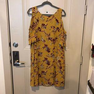 Target cold shoulder dress
